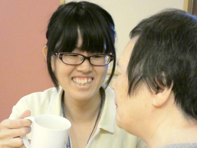 毎日、笑顔で働いてます!の画像
